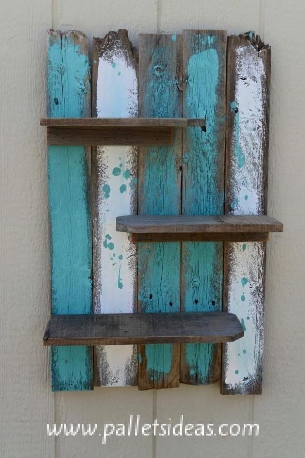 reciclando madera para estantes ideas para el hogar Pinterest
