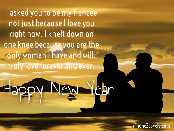 45 Best New Year 2020 Wishes For Fiance And Lover To Impress Iphone2lovely Happy New Year Images Happy New Year 2018 Happy New Year Message