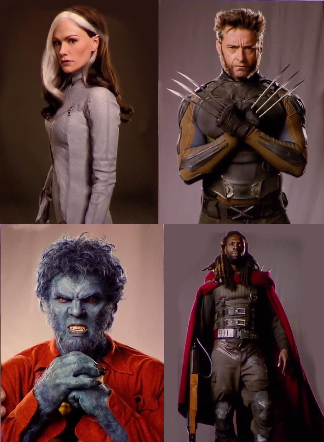 New Rogue, Wolverine, Bishop & Beast Images From X-MEN ...