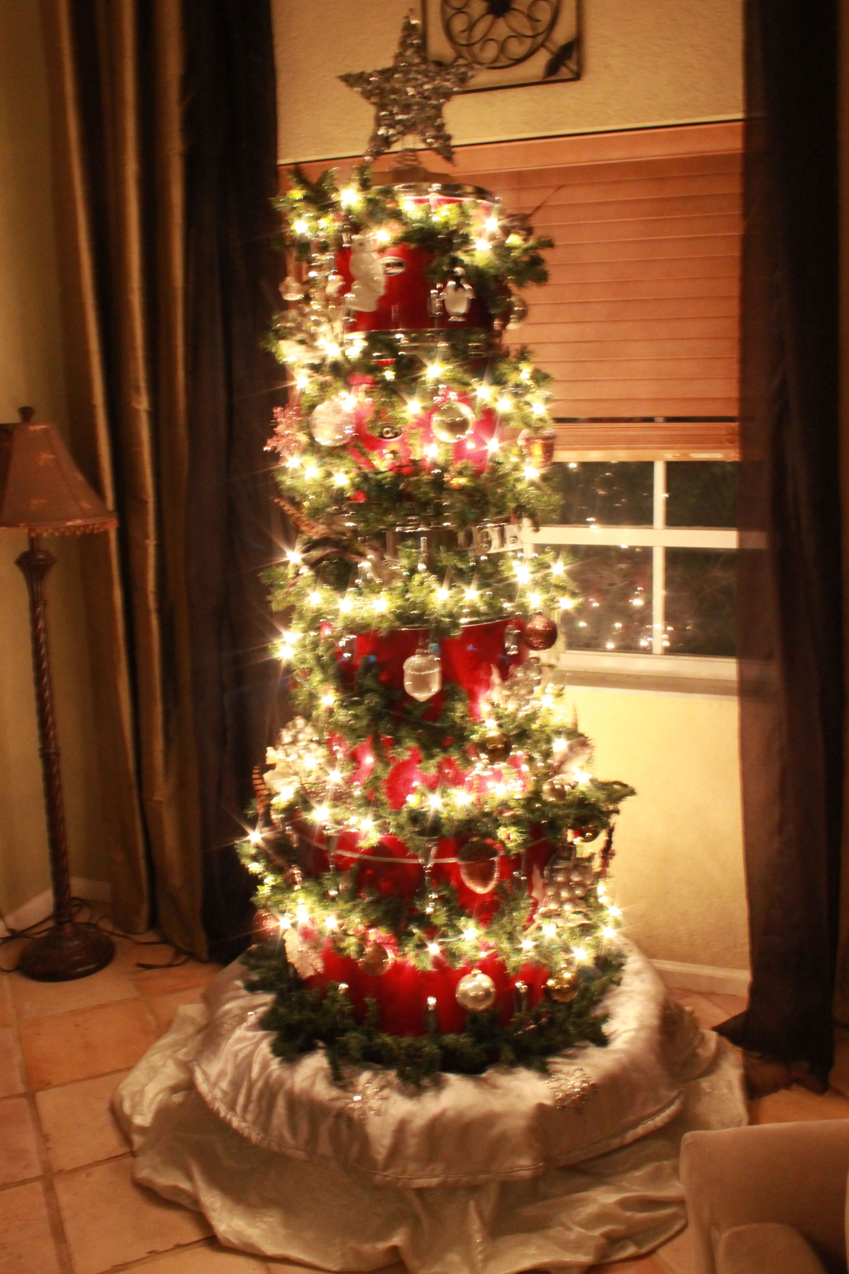 Christmas Drummer.Drum Kit Christmas Tree Oodalollie Christmas Tree