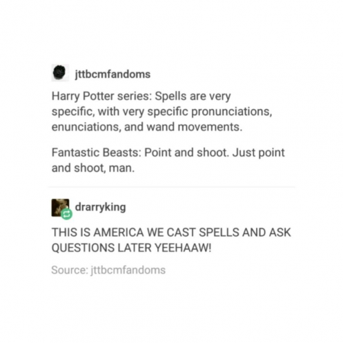 Harry Potter Tumblr Textpost Funny Lol Fantastic Beasts And Where To Find Them Newt Gethimtochas Harry Potter Tumblr Harry Potter Questions Harry Potter Funny