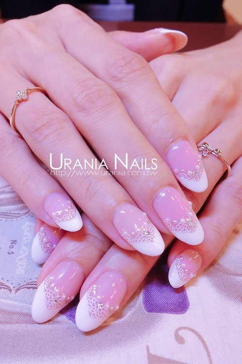 Wedding Nails http://blog.urania.com.tw/?p=663