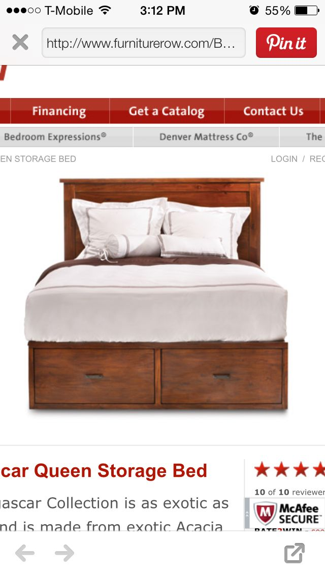 prodigious Www.furniturerow.com Part - 12: Madagascar Queen Storage Bed, Bedroom Expressions http:--www.furniturerow. com