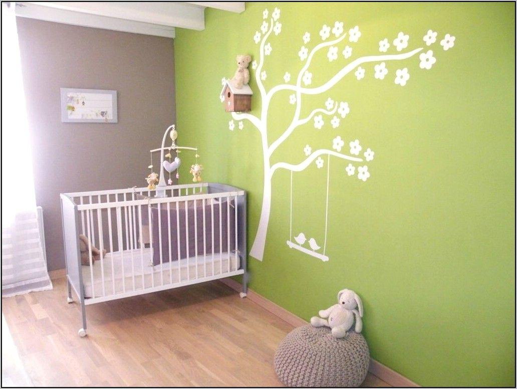 deco chambre couleur vert d'eau  bebek odası yeşil