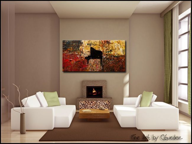 The Grand Finale Modern Contemporary Abstract Art Painting Image...WOW LOVE  THIS