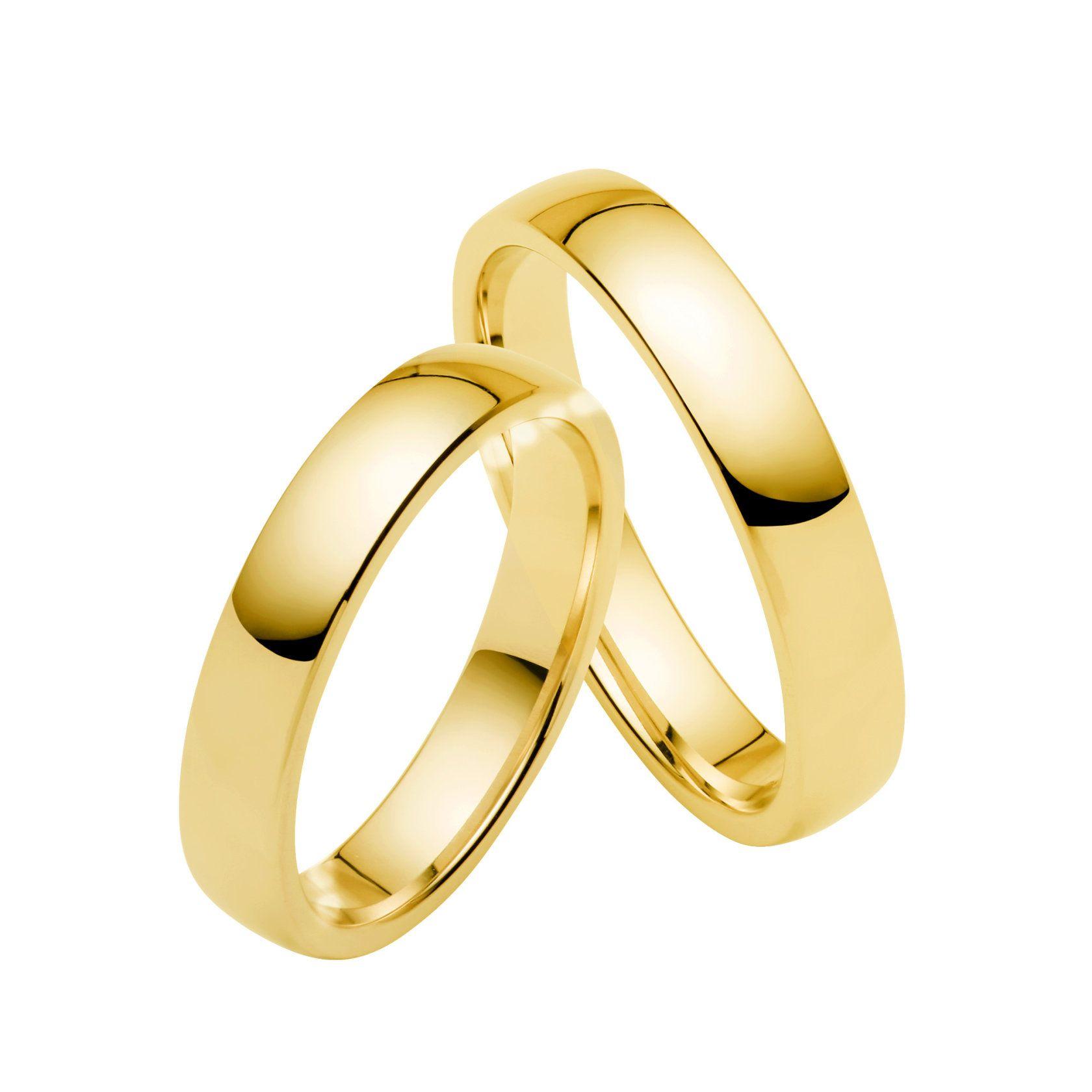 Juwelier Kraemer Trauring 4/ - Gold – 4 mm  Juwelier Kraemer