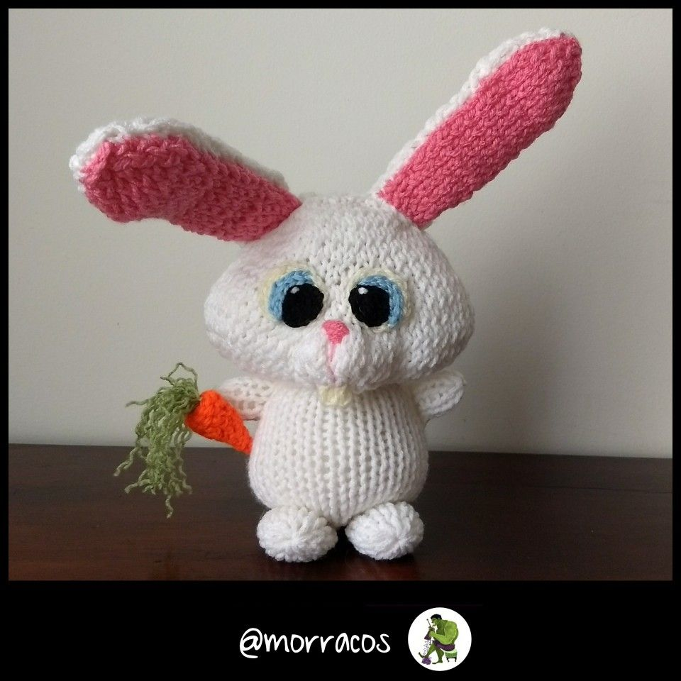 Snowball Of The Secret Life Of Pets By Morracos Crochet For Kids Animal Birthday Secret Life Of Pets