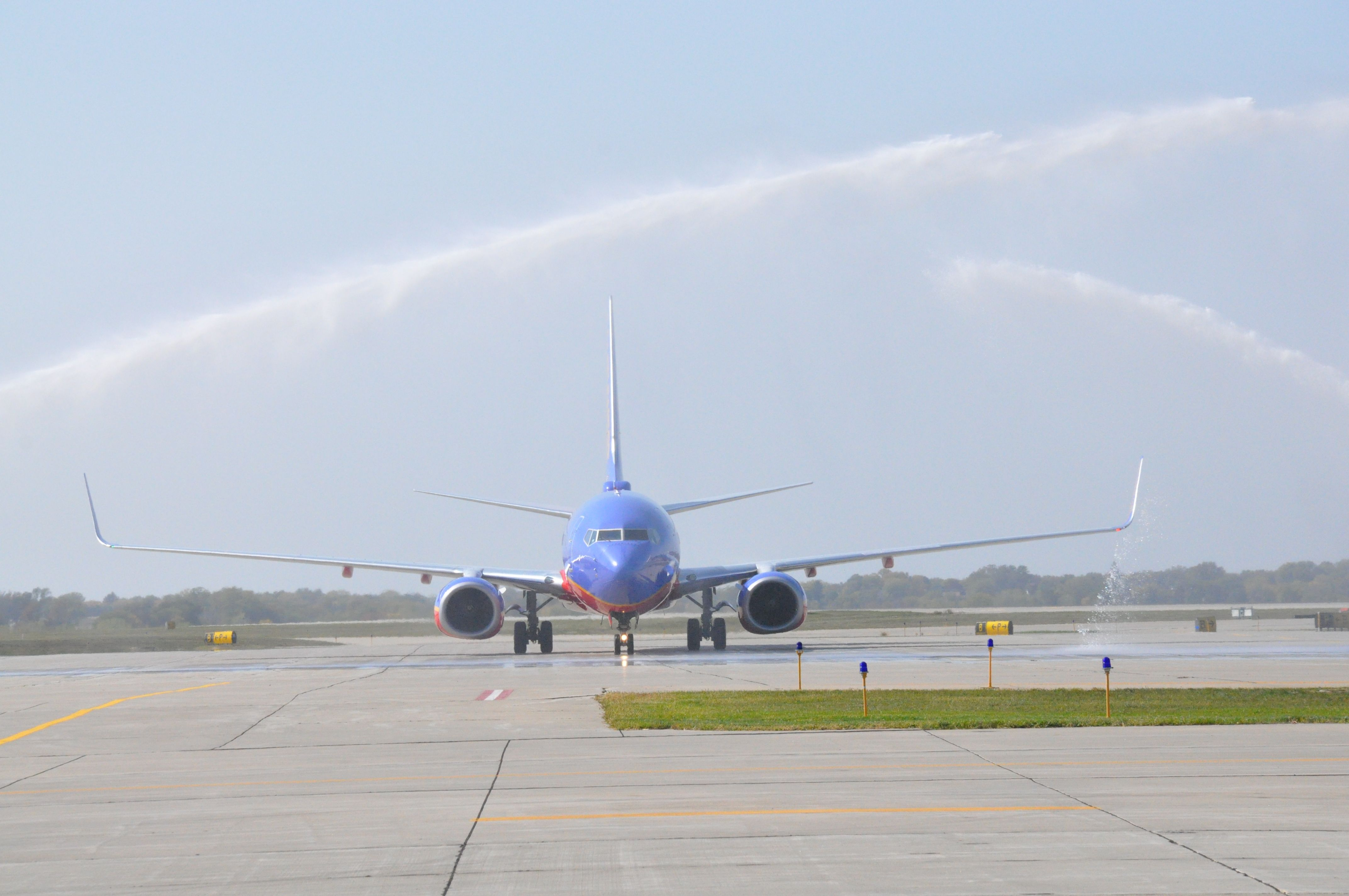 Southwest Airlines lands in Des Moines  Southwest
