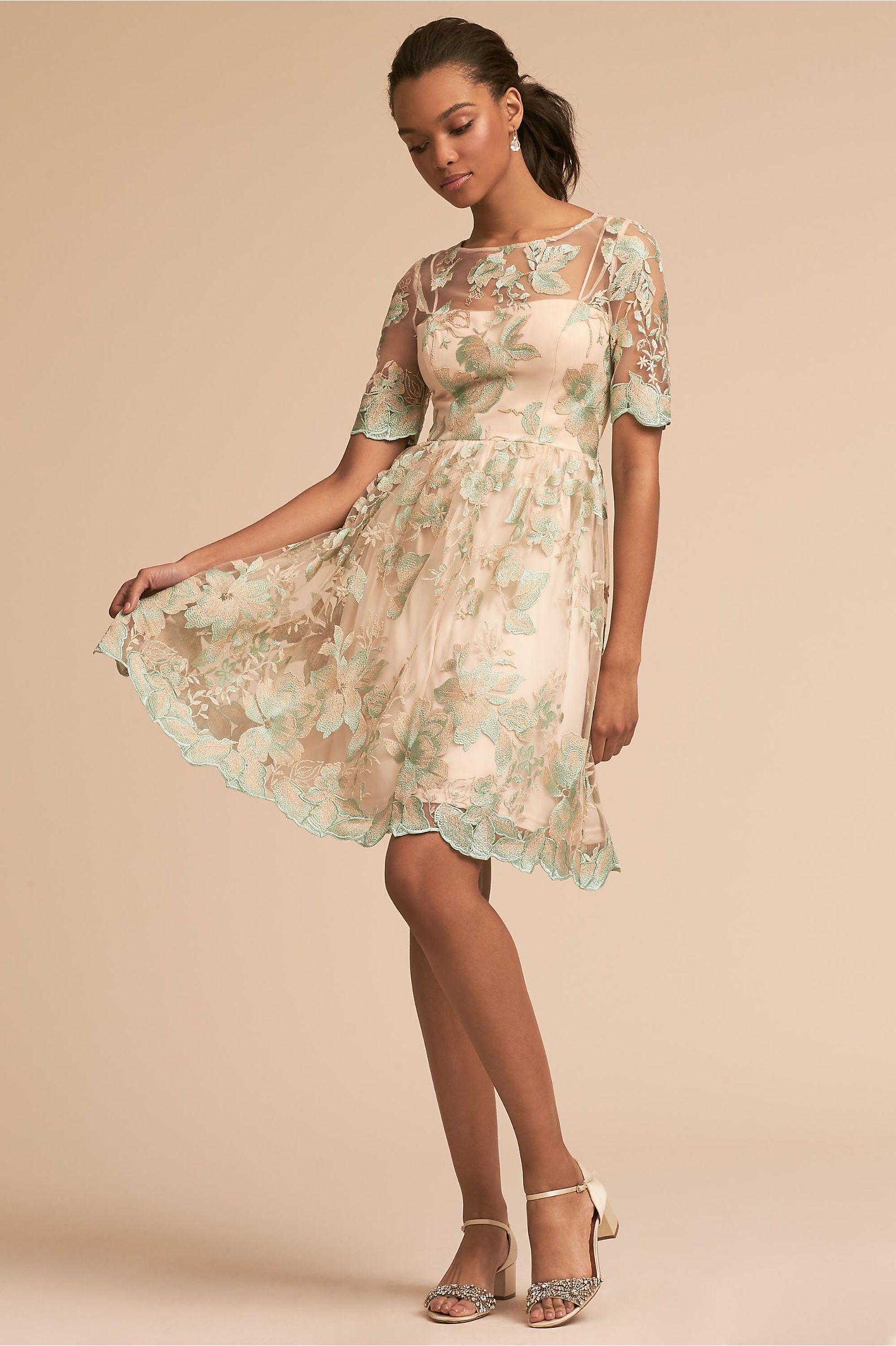 f2ec94d332f2 BHLDN Nadine Dress Morning Mist in Occasion Dresses | BHLDN ...