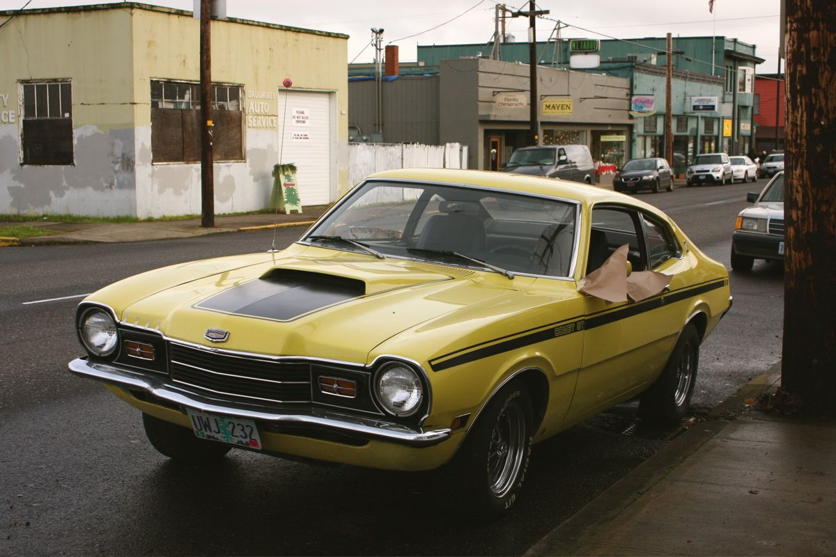 Cars Coches 1972 Mercury Comet Gt Ford Maverick Sweet Cars