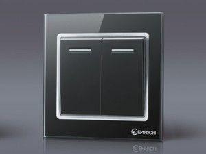 Details About Modern Sleek Gl Chrome Light Switch