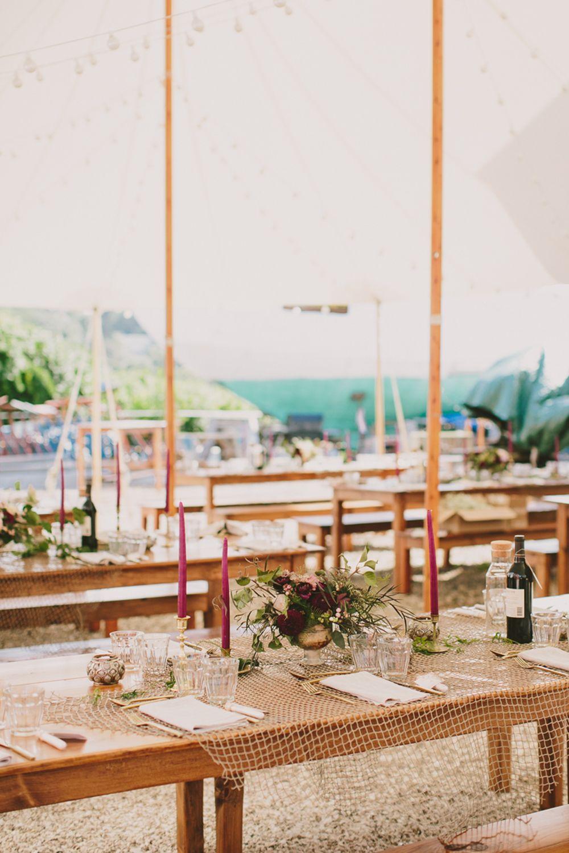 tented wedding receptions - photo by henry and mac http://ruffledblog.com/cape-cod-wedding-at-a-boat-building-yard