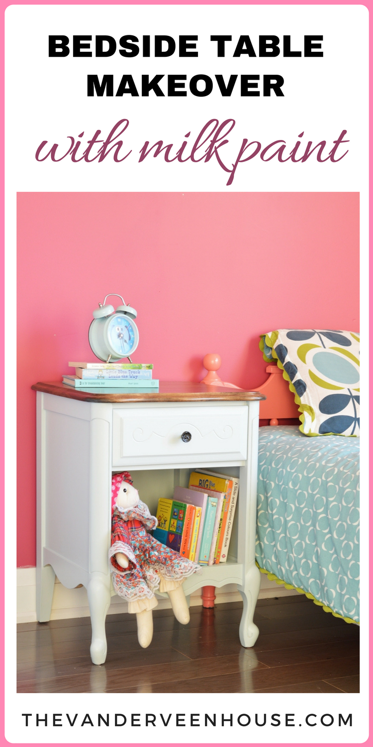 Dresser And End Table Makeover With Light Blue Milk Paint