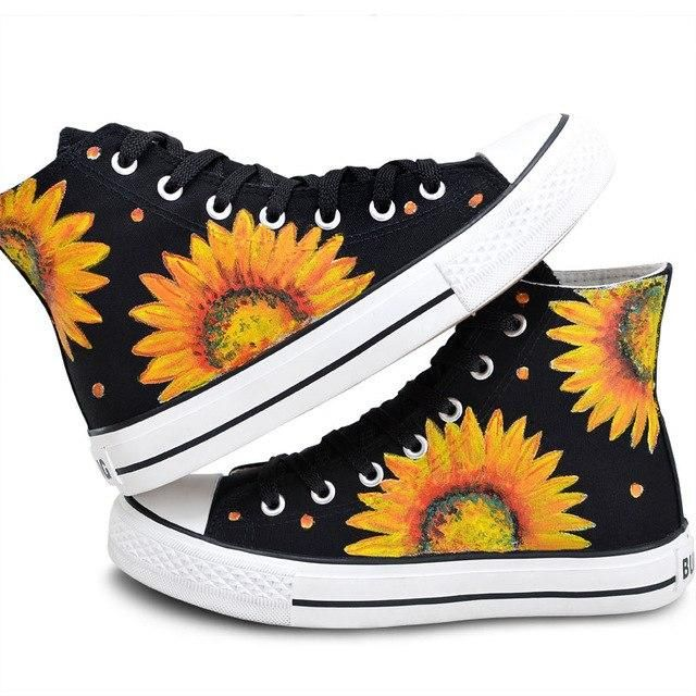 Pin on Sunflower Shoes