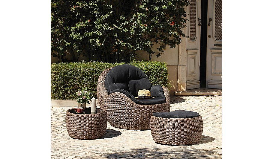 BORNEO EGG CHAIR SET, read reviews and buy online at George at ASDA ...