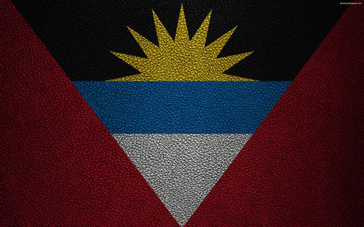 Descargar Fondos De Pantalla Bandera De Antigua Y Barbuda 4k