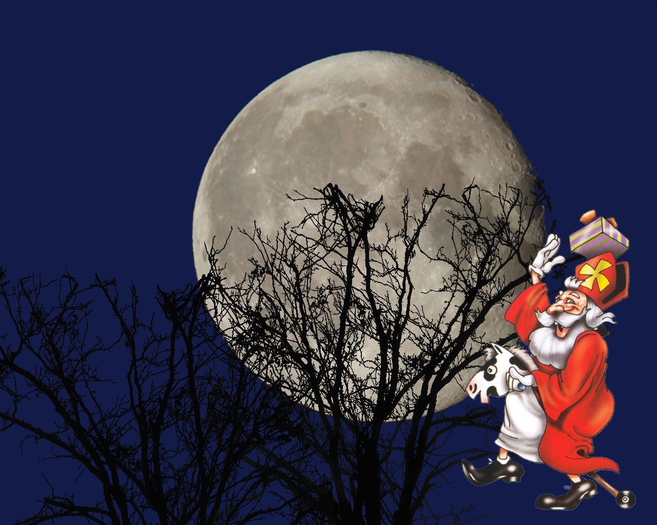 Sinterklaas achtergrond