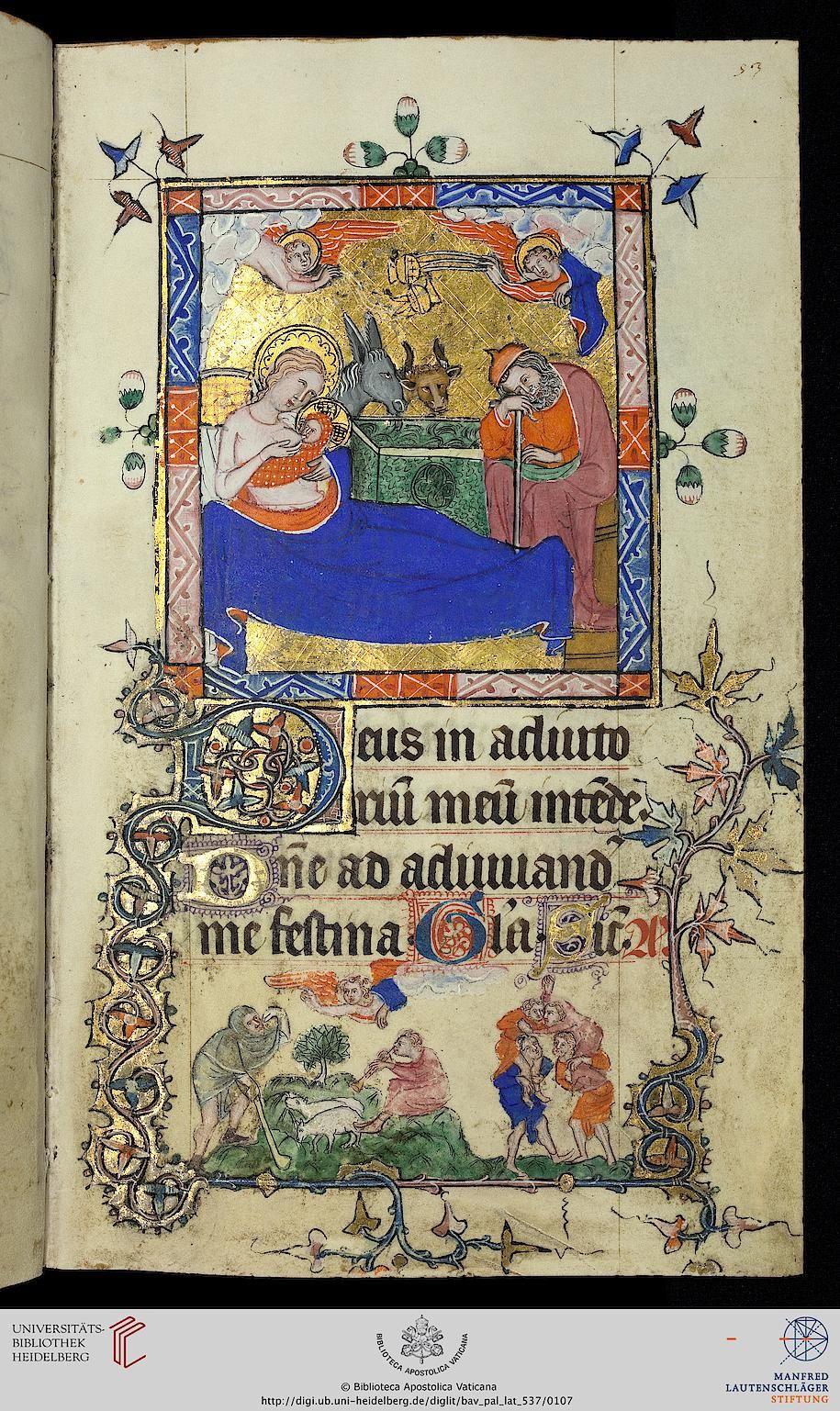 Vatikan, Biblioteca Apostolica Vaticana, Pal. lat. 537, f53r