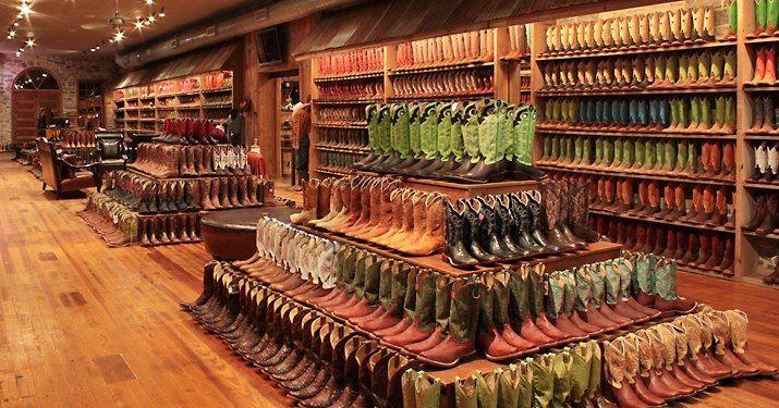 San Saba, TX Harry's Boot Store