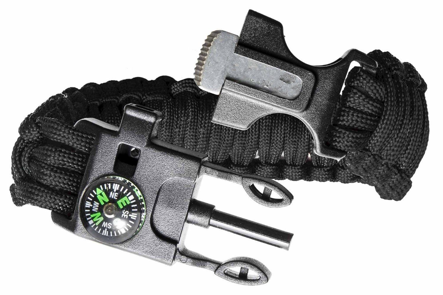 Hain Ultimate Outdoor Paracord Survival Kit 4 Different