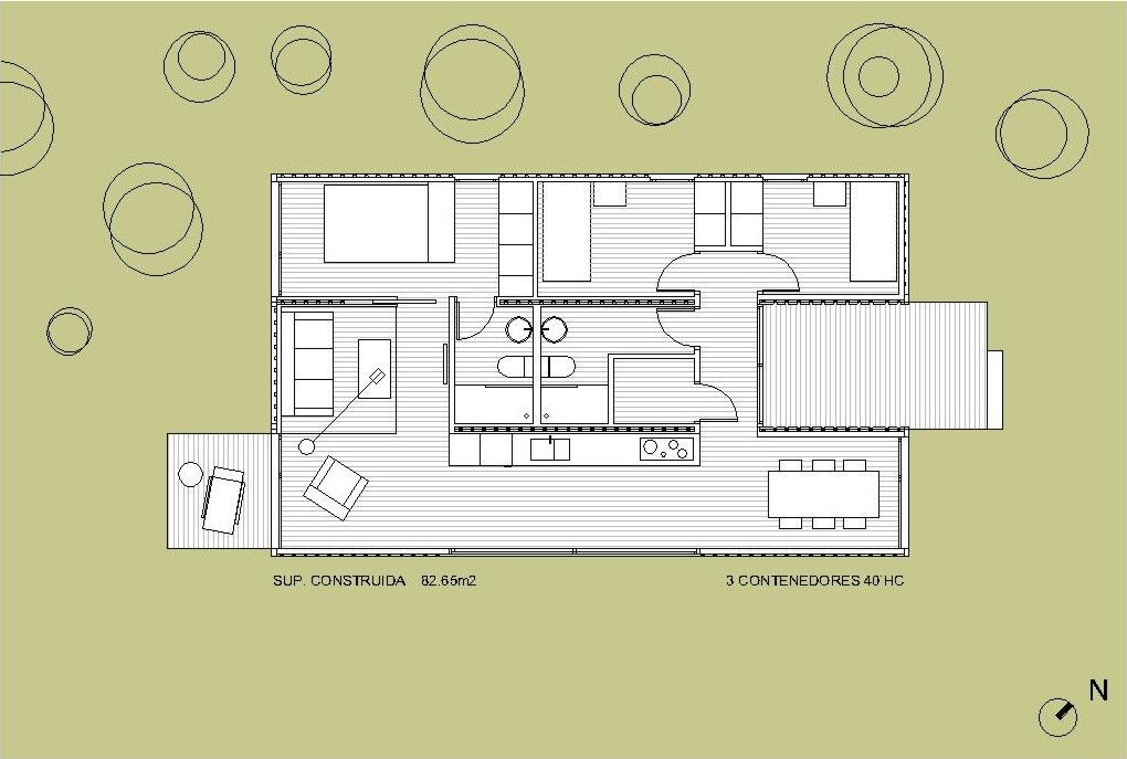 Resultado de imagen de medidas contenedor maritimo precios casas pinterest - Casa contenedor maritimo precio ...