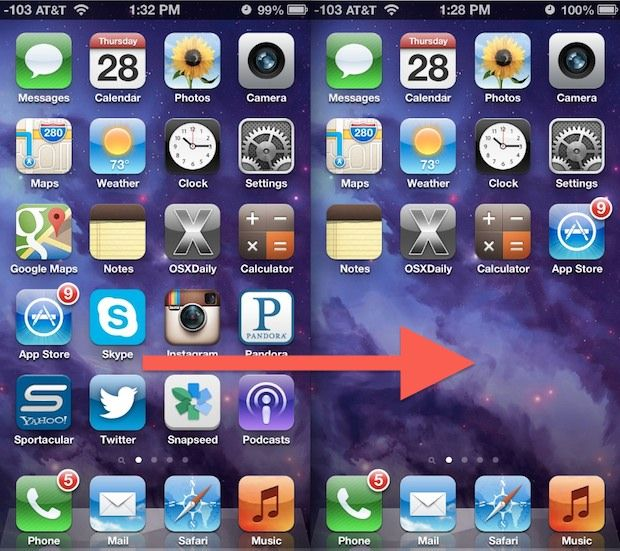 How to Hide Apps on the iPhone & iPad Hide apps, Hide