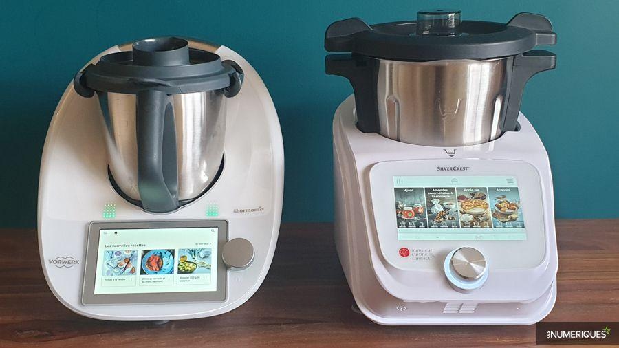 Duel de robots-cuiseurs– Vorwerk Thermomix TM6 vs Lidl Monsieur Cuisine Connect #recettemonsieurcuisinesilvercrest