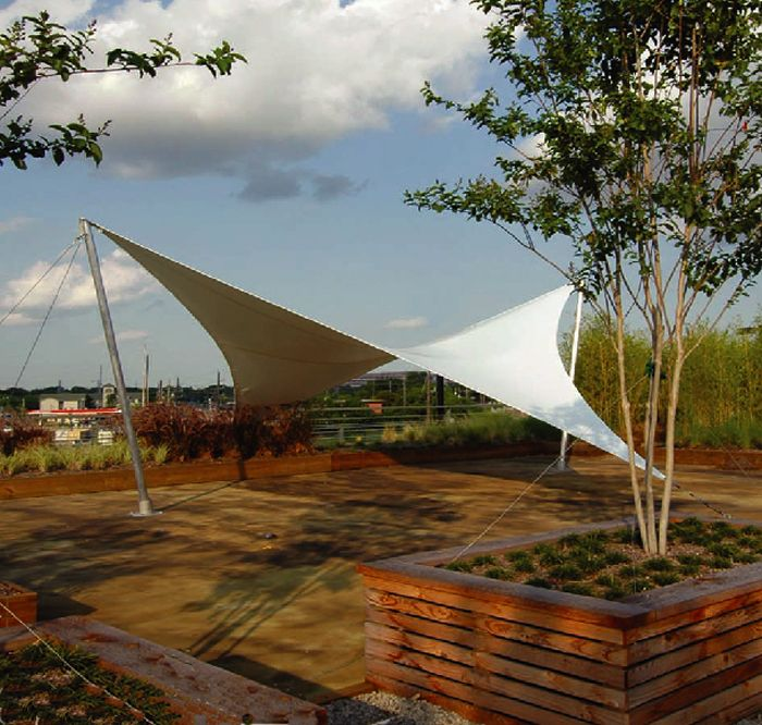 Sunveil Shade Structure Canopies 景観設計 建築 屋根