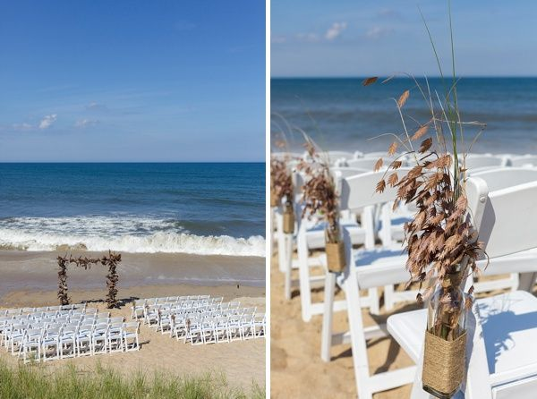 A Destination Wedding Featuring Neutral Color Palette At The Sanderling Resort In Outer Banks