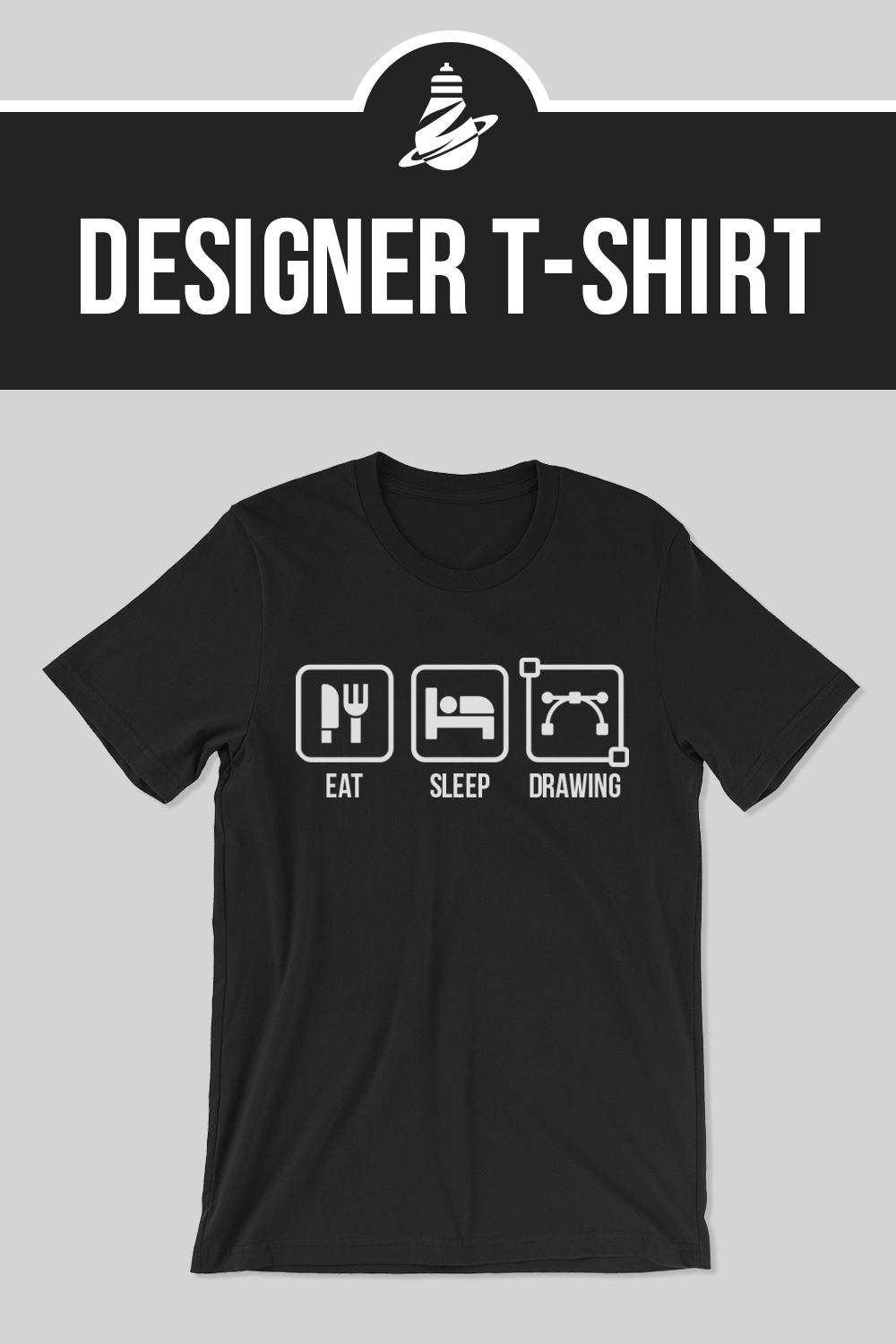 e27a354dfe19c Funny graphic designer illustration T-shirt. Wear Cute and awesome T-shirts  to look epic.  feelington