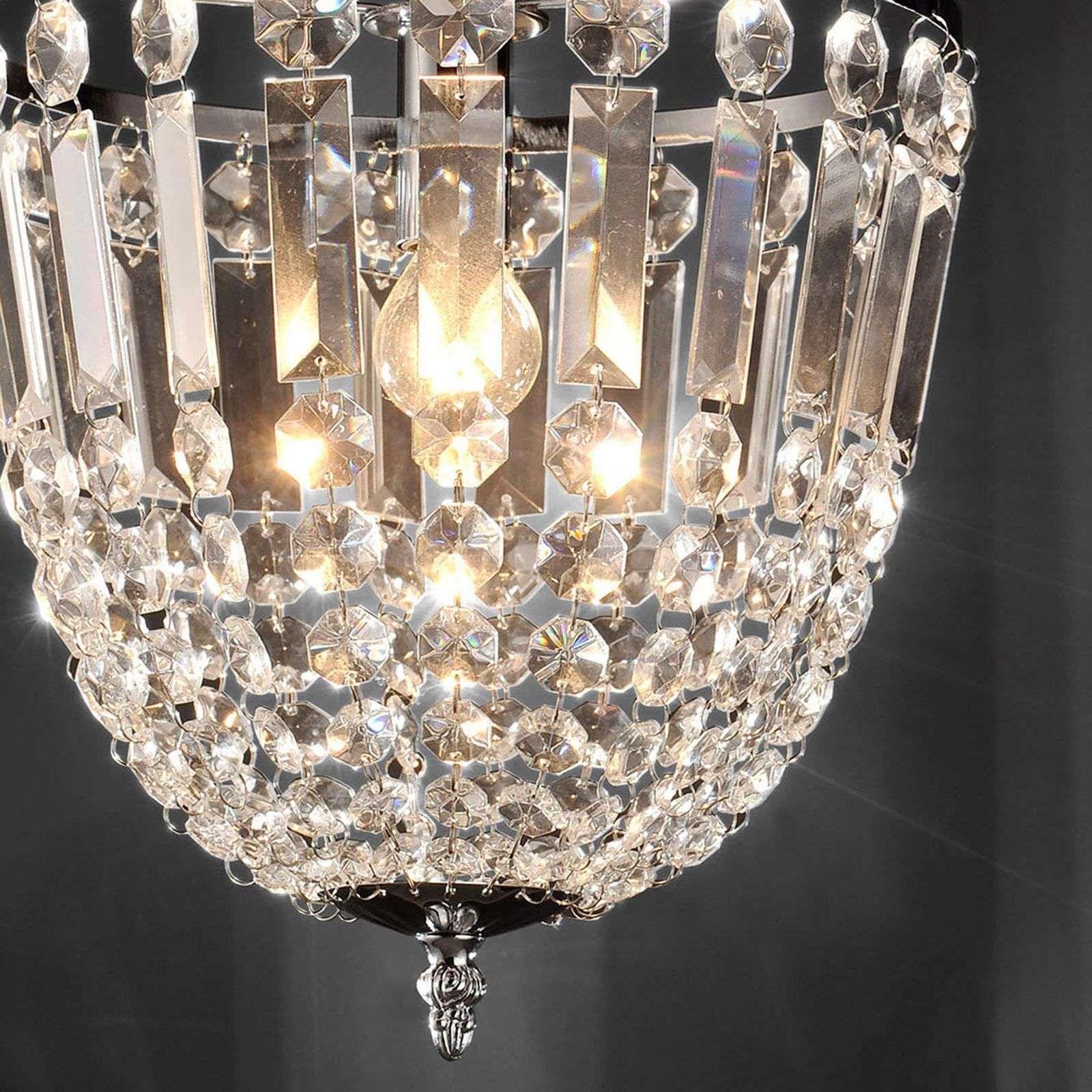 Kristall Deckenleuchte Kamea Kristall Deckenleuchte Beleuchtung Decke Spiegel Mit Beleuchtung