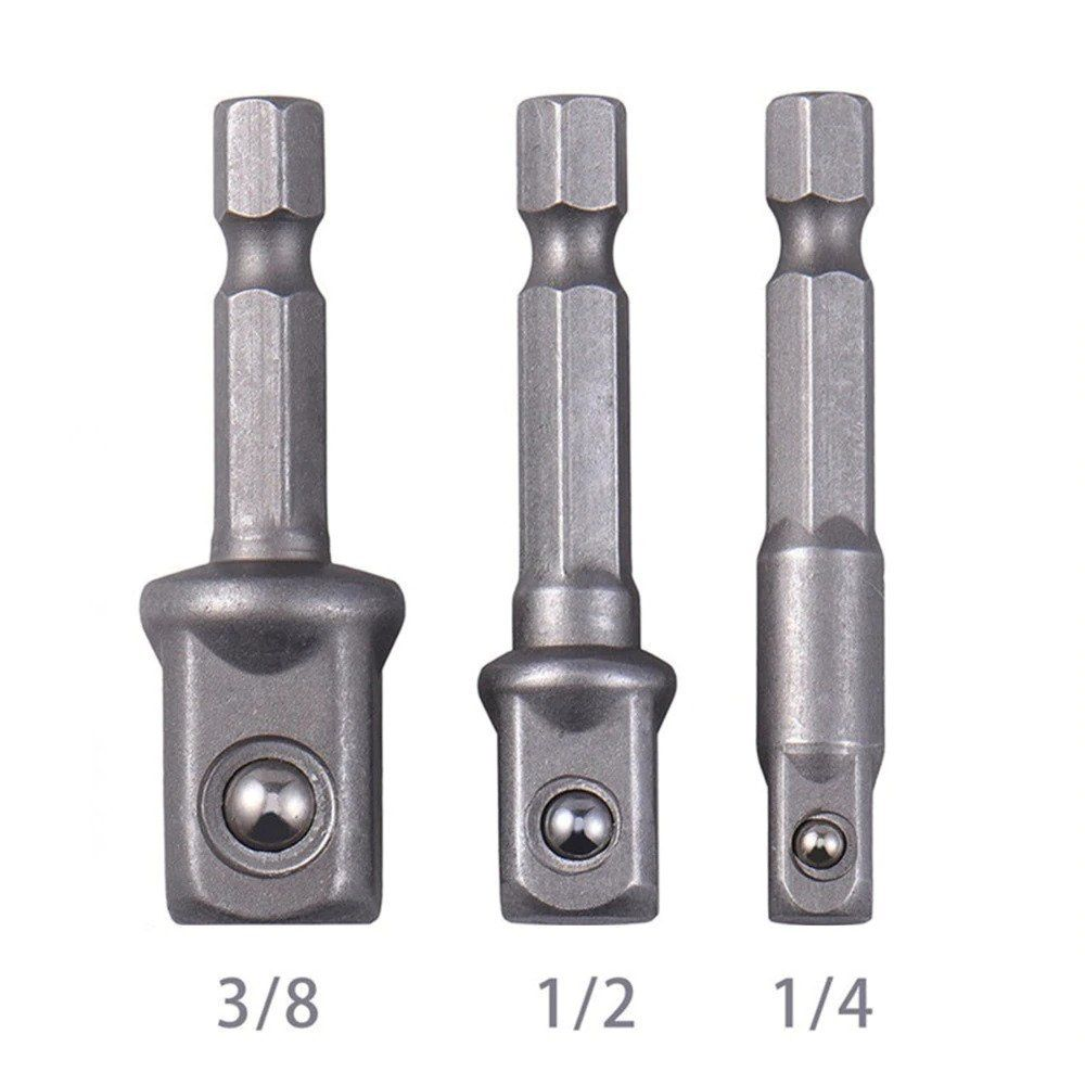 Yuehuam Drill Extension Bit Set Chrome Vanadium Steel Socket Adapter Driver Tool Impact Driver Drill Bits