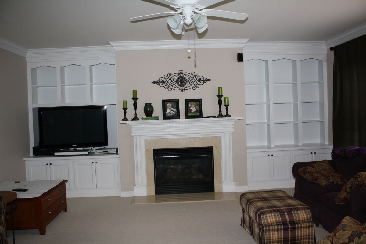 built in wall units bookcases shelving fireplace mantels rh pinterest com Built in Entertainment Wall Units with Fireplace Fireplaces with Built in Shelving Unit