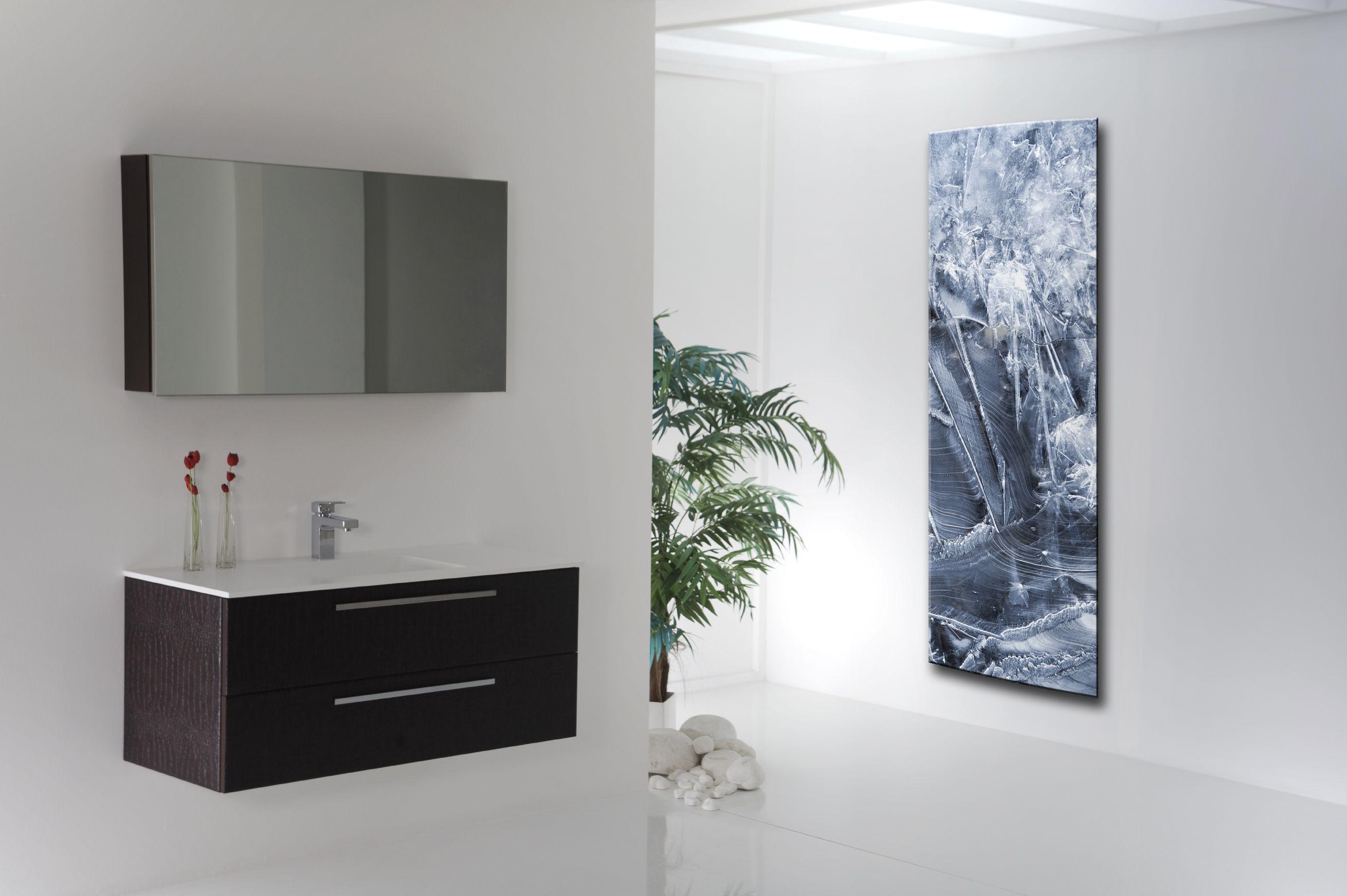 Un concept unique de radiateurs artistiques proposant une façade décorée personnalisable et interchangeable - Chauffage Electrique par rayonnement Infrarouge - Puissance disponibles : 750 W, 1 000 W, 1 100 W, 1 300 W - Version sèche-serviette de 600 W - à partir de 960,70 €