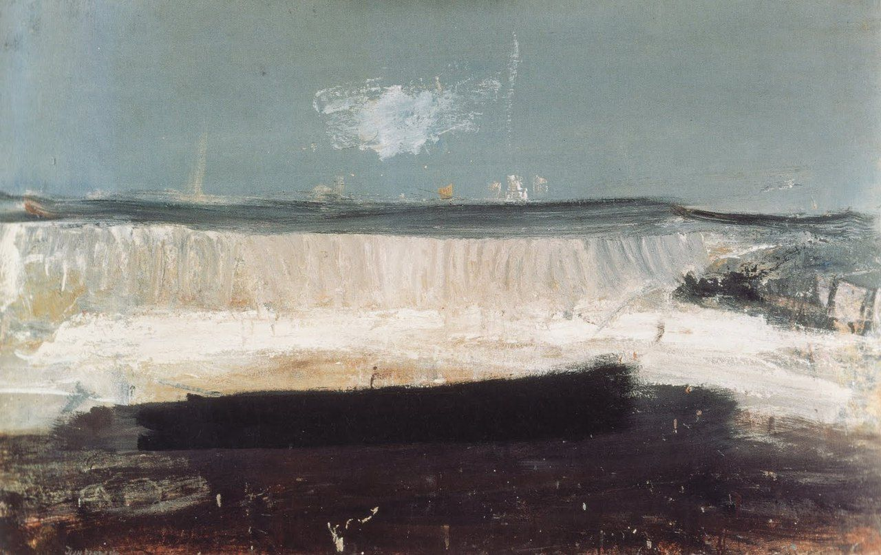 paintings by joan eardley | The Wave