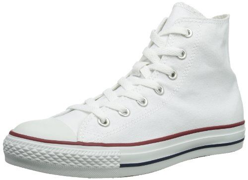 Chuck Taylor All Star Hi-Top, Unisex Adults Hi- Top Trainers, White(White Optical), 11 UK (45 EU) Converse