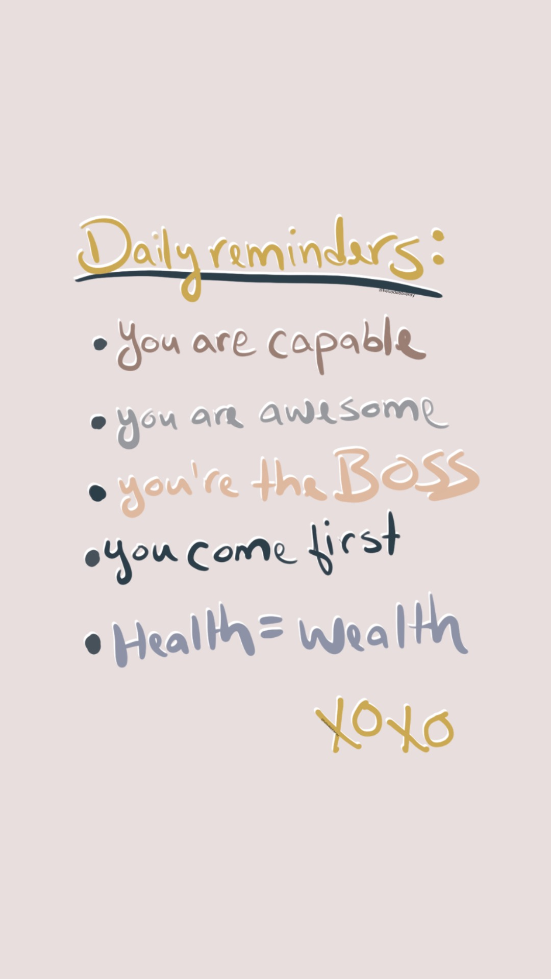 3 Positive Reminders to start your day!