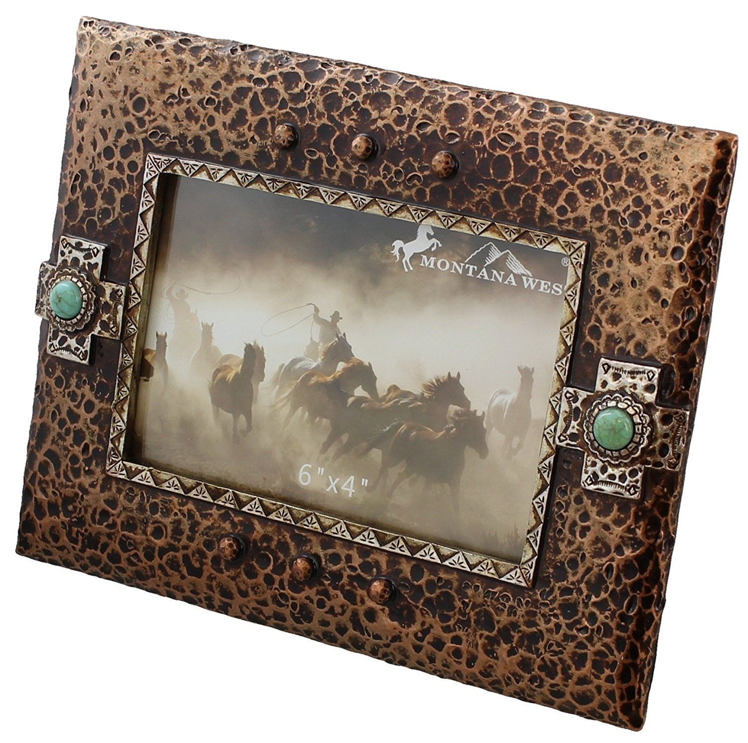 Rustic decorative hammered copper and silver look picture frame rustic decorative hammered copper and silver look picture frame check out the image by visiting jeuxipadfo Gallery