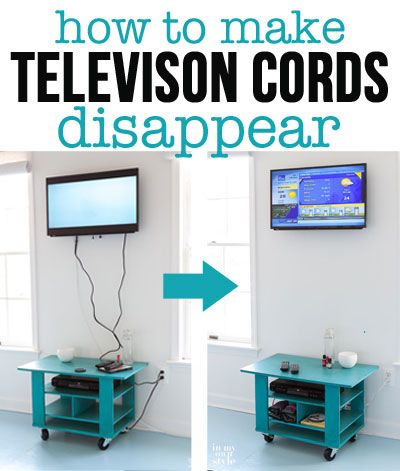 How To Hide Cords On A Wall Mounted Tv Diy Home Improvement Home Projects Home Diy