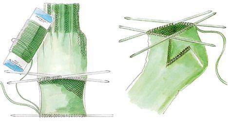 Photo of Sokkeskolen – Den simple opskrift på pinde nr 2,5-3. Start med 60 masker