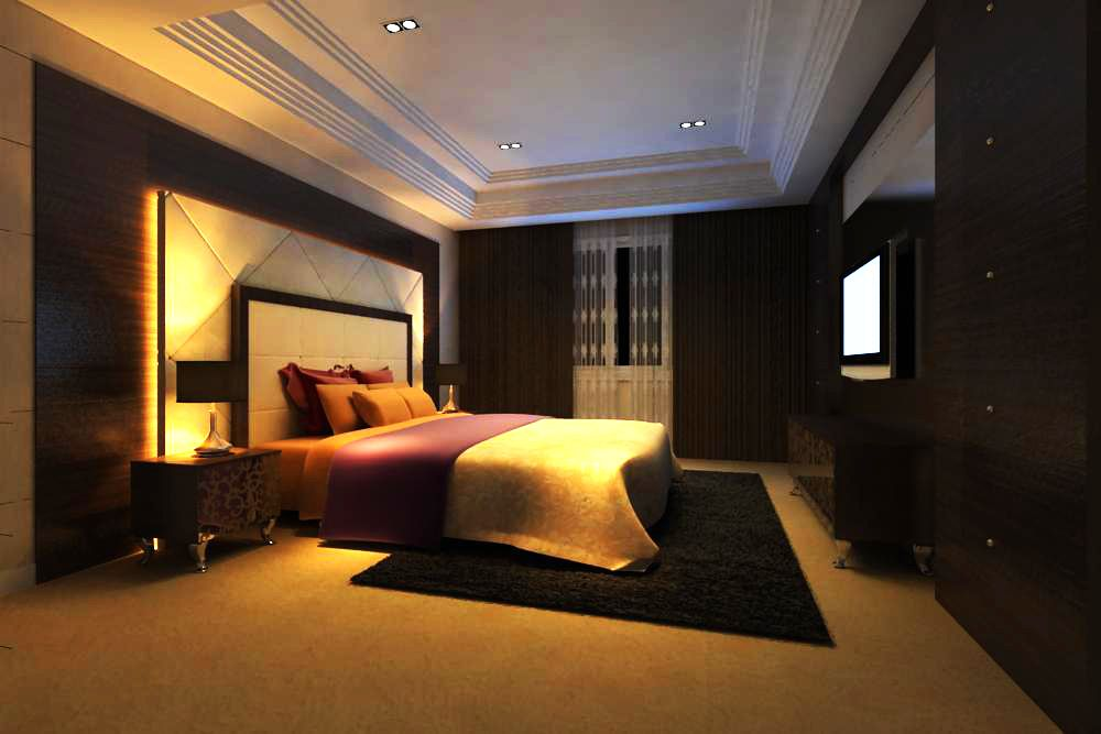 Guest Room 025 3D Model Created With VRay And Need This Renderer To Work Correctly Materials Used Textures Light Setup