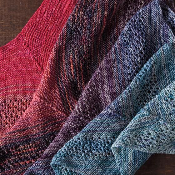 Find Your Fade Shawl - Knitting Patterns and Crochet Patterns from ...