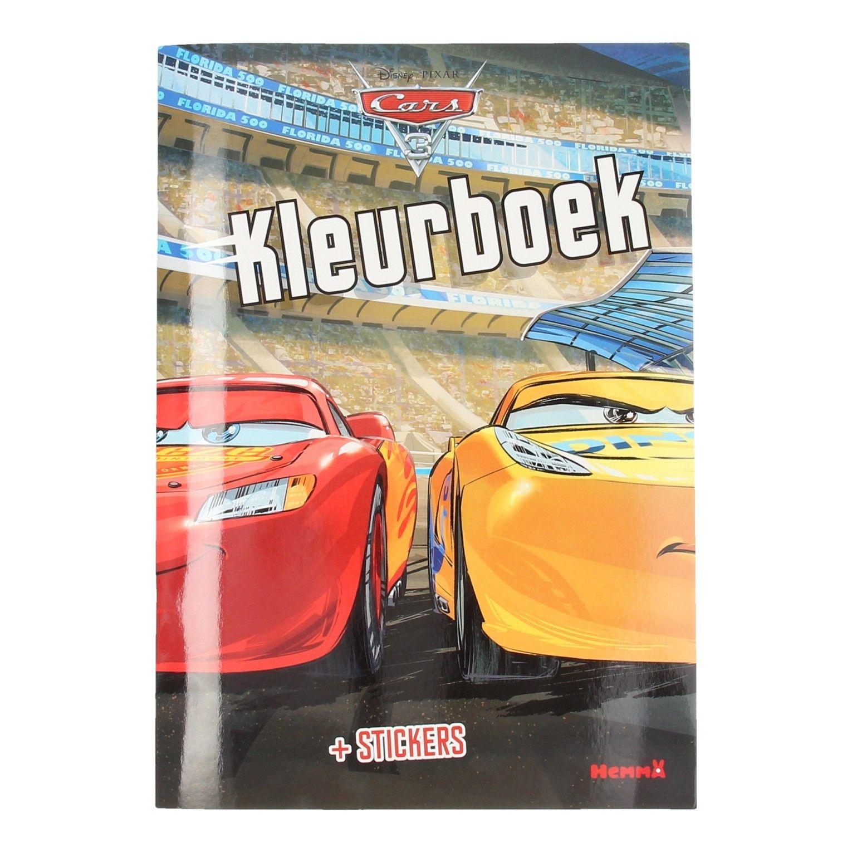 Kleurplaten Cars A4 Formaat.Cars 3 Kleurboek Met Stickers Avondvierdaagse Cadeau S Pinterest