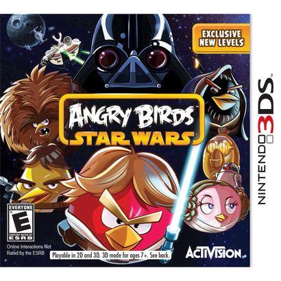Angry Birds Star Wars Nintendo 3ds Star Wars Xbox Star Wars