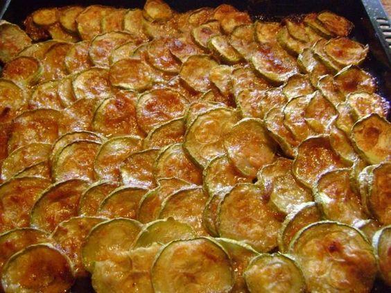 Gebraten Zucchini aus dem Ofen * Einfache Rezepte – Essen / Food / Hauptgerichte / Skin dishes / Spargel / Feta / Tarte / Quiches / Burger etc.