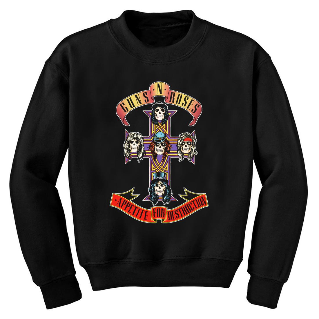 Guns N' Roses   Cross Fleece   Shop Official Brands   Guns n