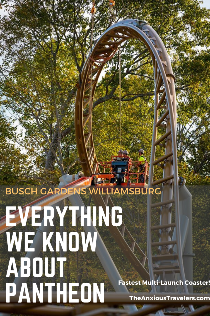 New Ride At Busch Gardens Williamsburg 2020
