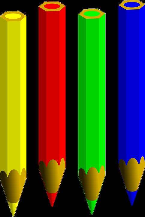 Lapices De Color Pluma Escribir Lapiz Agudo Lapices Arte De Lapices De Color Imagenes Coloridas