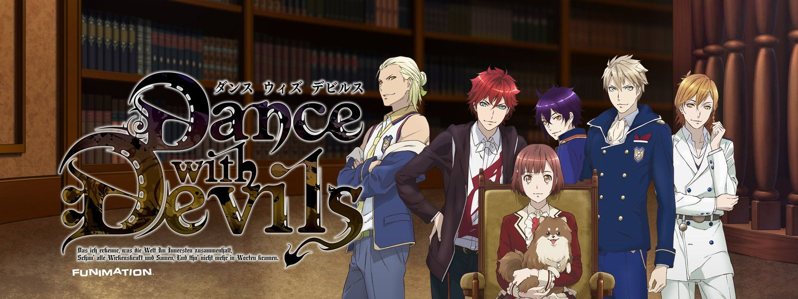 Dance with Devils Reverse Harem with pretty