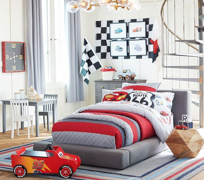 Habitaciones infantiles cars coches en 2019 dise os de - Dormitorios de cars ...